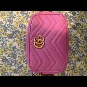 Gucci Marmont Matelassé Mini Calfskin Shoulder Bag